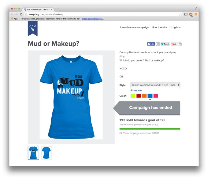 Increase Teespring Sales with Twitter